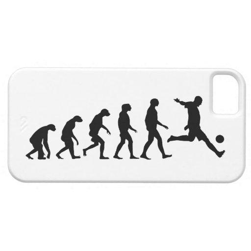 Evolution von Fußball iPhone 5 Fall Etui Fürs iPhone 5