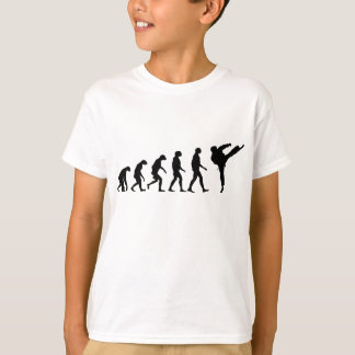 Evolution von Karate T-Shirt