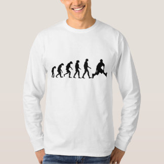 Evolution von Rollerblading T-Shirt