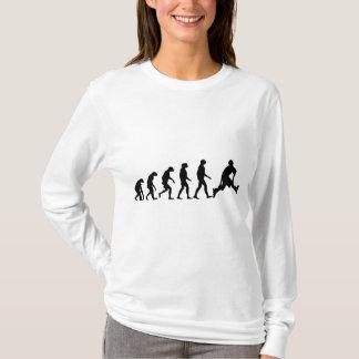 Evolution von Rollerblading T-Shirt