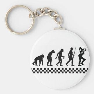 Evolution von Ska Schlüsselring Schlüsselanhänger