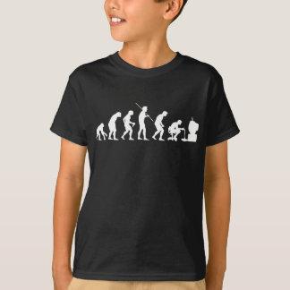Evolution von Videospiel-SpielGamer Tshirt