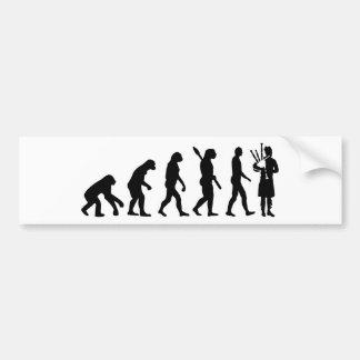 EvolutionBagpipe Autoaufkleber