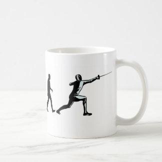 Evolutions-Fechter Kaffeetasse
