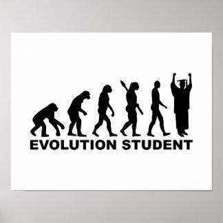 Evolutions-Student Posterdrucke