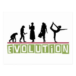 Evolutions-Yoga-Geschenk Postkarten