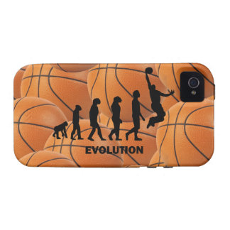 Evolutionsbasketball Case-Mate iPhone 4 Case