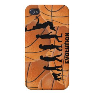 Evolutionsbasketball iPhone 4 Schutzhülle