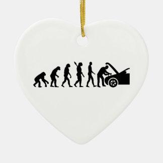 Evolutionsbewegungsmechaniker Keramik Ornament