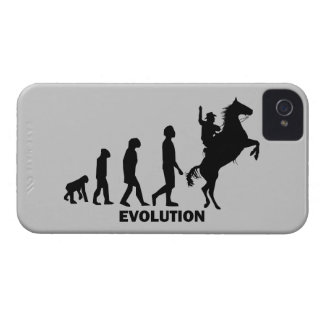 Evolutionscowboy iPhone 4 Hüllen