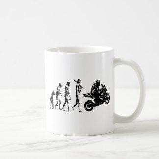 Evolutionsfahrrad Kaffeetasse