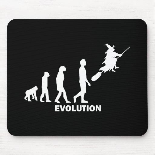 Evolutionshexe Mauspad