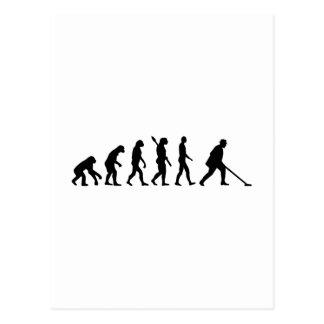 EvolutionShuffleboard Postkarte