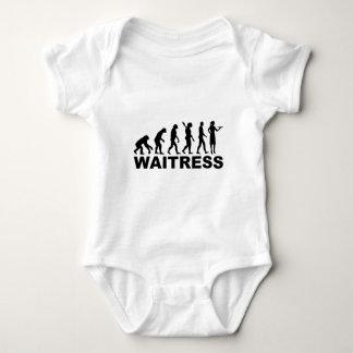 Evolutionskellnerin Baby Strampler
