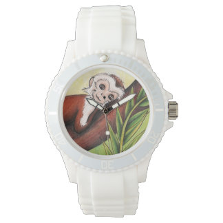 eWatch Uhr mit Kunst vom kleinen Affen