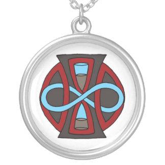 Ewige Bindung Personalisierte Halskette
