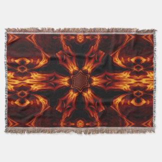 Ewige Flammen-Blumen2 SDL Throw-Decke Decke