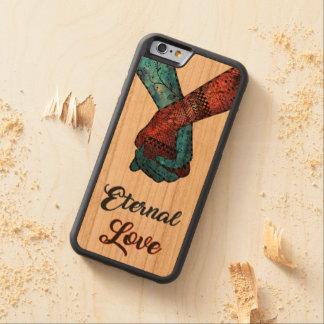 Ewige Liebe kundenspezifisches iPhone, Samsung, Bumper iPhone 6 Hülle Kirsche