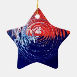 Ewiger Kreis 1 Keramik Stern-Ornament