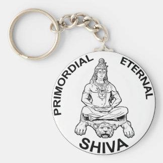 Ewiger Lords Shiva ursprünglicher, indischer Gott Schlüsselanhänger