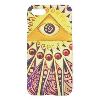 Ewiges Auge Illuminati Symbol iPhone 8/7 Hülle