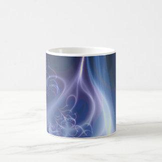 Ewiges Flammen-Fraktal Kaffeetasse