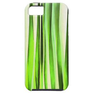 Ewiges immergrünes Stripy Muster iPhone 5 Hüllen
