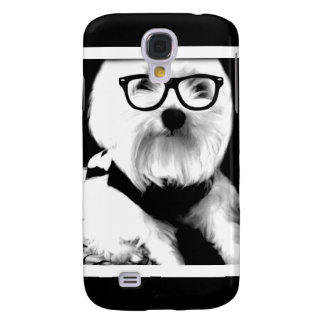 Ewok Niedliches maltesisches mit Gläsern Galaxy S4 Hülle
