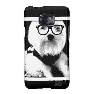 Ewok Niedliches maltesisches mit Gläsern Samsung Galaxy S2 Case