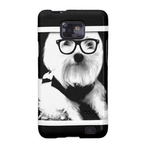 Ewok. Niedliches maltesisches mit Gläsern Samsung Galaxy S2 Case