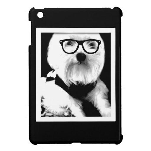Ewok. Niedliches maltesisches mit Gläsern iPad Mini Hülle