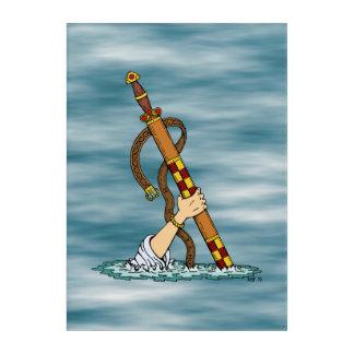 Excalibur Acryl Wandkunst