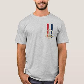 Excalibur Camelot klassisches Auto-Licht T-Shirt