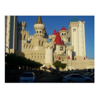 Excalibur Hotel Postkarte