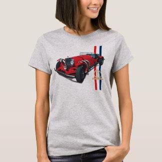 Excalibur ReiheSSK roter Roadsterfrauen T-Shirt