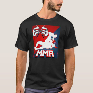 EXE MIXED MARTIAL ARTS - Kampf-Flagge T-Shirt