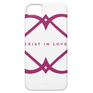 Existieren Sie in der Liebe iPhone 5 Schutzhülle