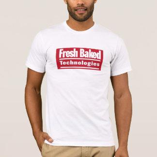 Exklusiver frischer gebackener Technologie-T - T-Shirt