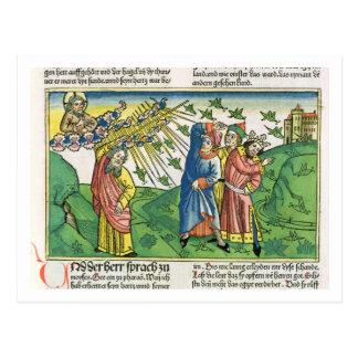 Exodus-10:1 - 20 die sieben Pest von Ägypten: der  Postkarten