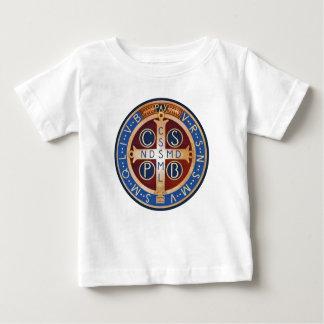 Exorzismus-Medaillen-T - Shirt Baby-St. Benedict