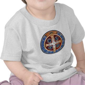 Exorzismus-Medaillen-T - Shirt Baby-St Benedict