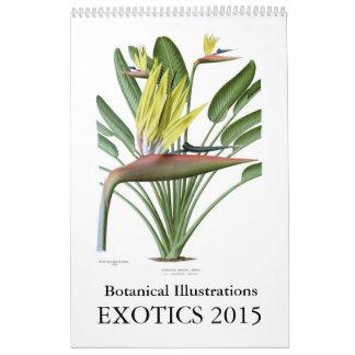 Exotics 2015 abreißkalender