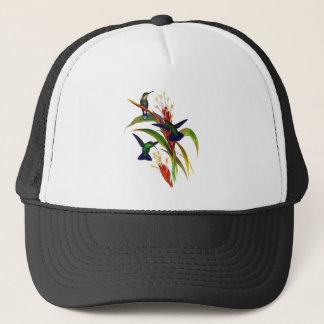 Exotische bunte Kolibris Truckerkappe