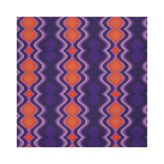 Exotische Farben Leinwanddruck