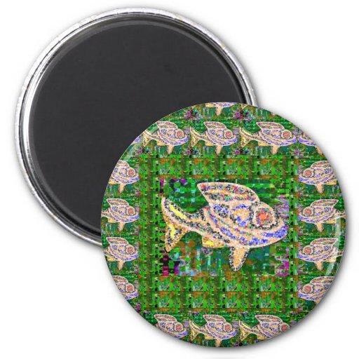 EXOTISCHE Goldfisch-Fisch-Wasserhaustier - Magnets
