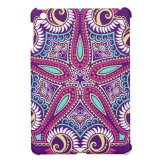 Exotische lila Fraktal Mandala Starfishverzierung iPad Mini Hülle