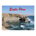 Exotische Peru-Postkarte
