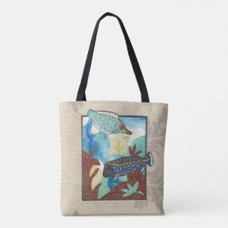 Exotische Unterwasserwelt Tasche