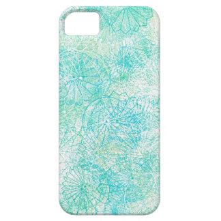 Exotischer blauer BlumeniPhone Kasten iPhone 5 Schutzhülle