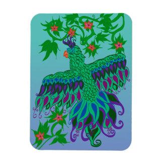 Exotischer Papageien-Magnet Magnet